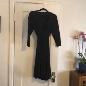 Black Eileen Fisher Wrap dress